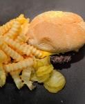 Cheese Burger Basket