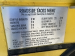 Roadside Tacos Menu