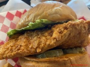 Charlotte's Chicken Sandwich